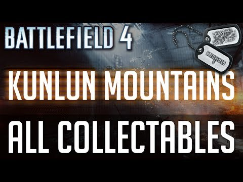 "Battlefield 4 - All Collectible Locations (Weapons and Dogtags) - Mission 5 ""Kunlun Mountains"""