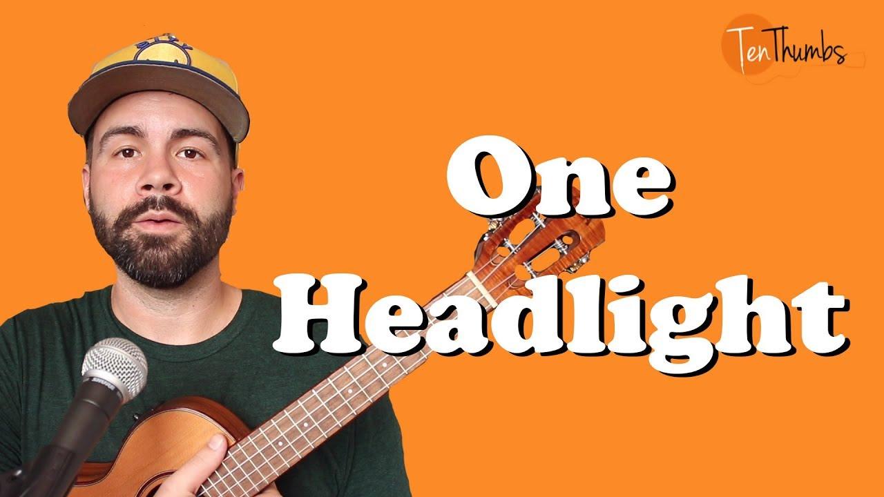 One Headlight   The Wallflowers   Easy Ukulele Tutorial
