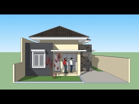 House Design Using Sketchup