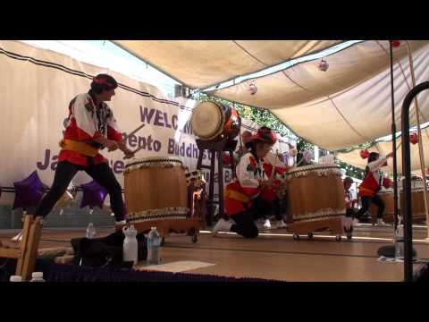 "Sacramento Taiko Dan - ""Camellias At Full Bloom"""