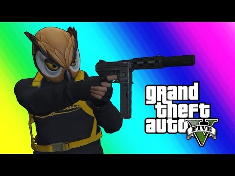 Thumbnail: GTA 5 Online Funny Moments - Bat Owl and the Superhero Squad!