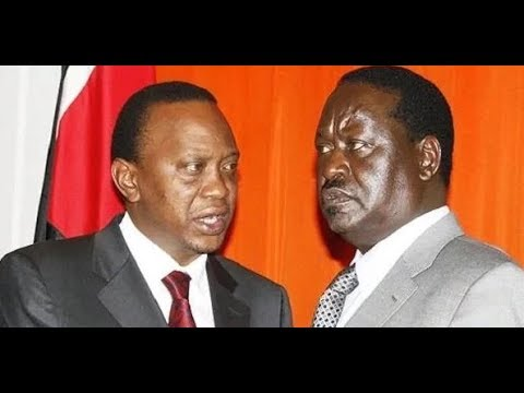 Circumstances that forced Uhuru Kenyatta and Raila Odinga to sit together