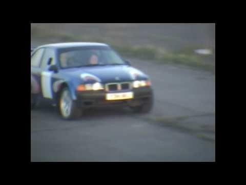 Darren Evans rally bmw compact honda s2000