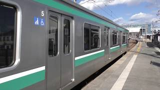 試9692M E501系 K754編成 四ツ倉駅発車