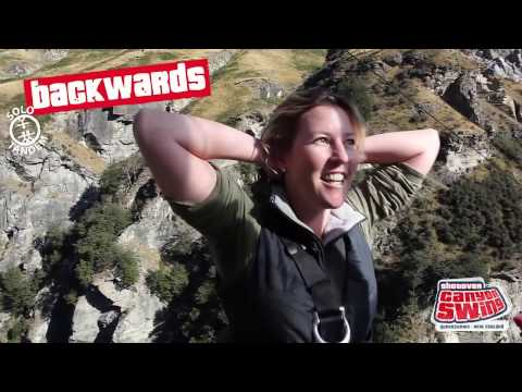 Shotover Canyon Swing - Video
