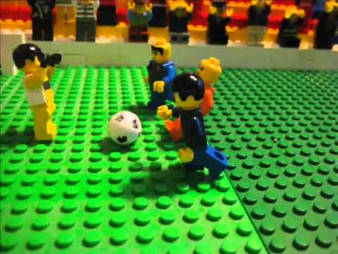 Lego-Footy - World Cup 2010: Netherlands - Spain