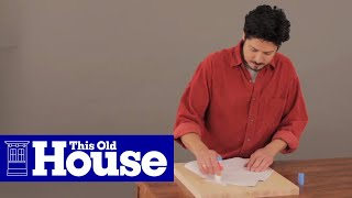 How To Make A House-shaped Cutting Board - This Old House