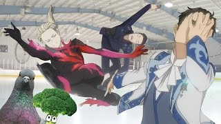 [Овощ и Голубь] - Yuri on Ice 12 эпизод - ЖИЮРИК ВЖУХ ВЖУХ