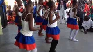 Dancers at Haiti Flag Day in Eleuthera - May 2013 (1)