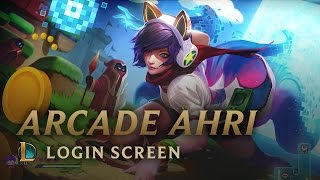 Bit Rush: Arcade Ahri - Login Screen
