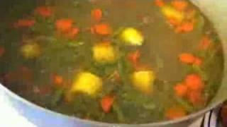 Hearty Meatball Soup Made By Chef Celly, Sopa De Albondigas,caldo De Bollas Pequenas.