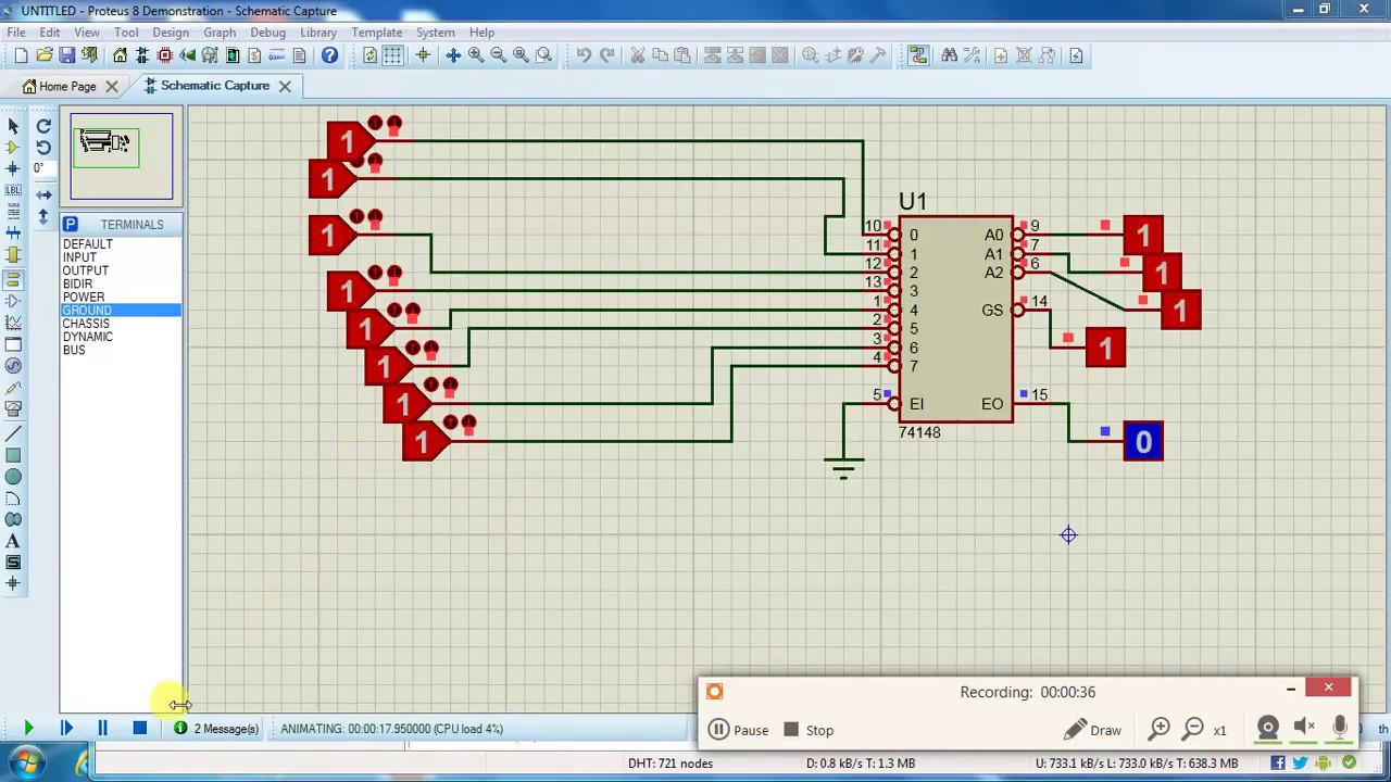 8 Into 2 Octal Priority Encoder Youtube Logic Diagram Of