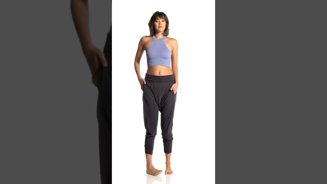 size 40 separation shoes differently Free People Movement Echo Harem Pants | SwimOutlet.com - YouTube