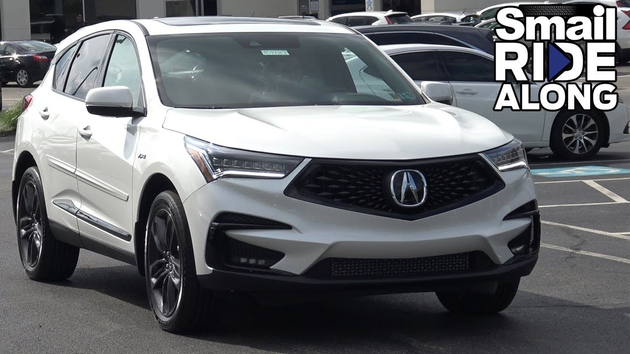 2019 Acura Rdx A Spec Review And Test Drive Smail Ride Along