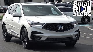 2019 Acura RDX A-Spec - Review and Test Drive - Smail Ride Along