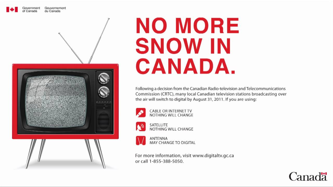 Radio Ad - Canada's Transition to Digital Television (DTV)