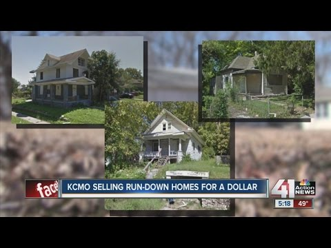 KCMO selling vacant houses for a dollar