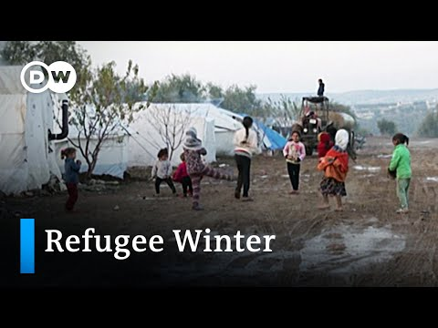 Millions of Syrian refugees face harsh winter conditions | DW News