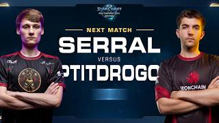 Serral vs Ptitdrogo ZvP - Match 3 Finals - WCS Winter Europe