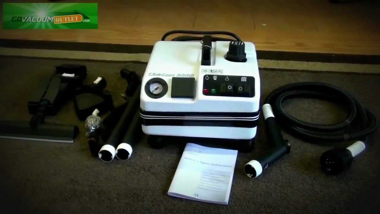 Vapor Clean Unilux 3000 Professional Commercial Steam Cleaner Review Unboxing You