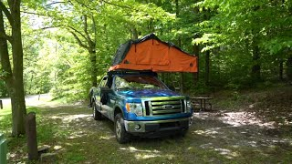 Roof Top Tent Camping in the Northeast!