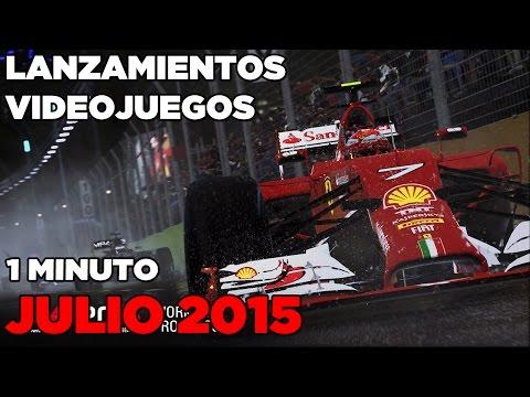 Lanzamientos de Videojuegos Julio 2015 - EN 1 MINUTO