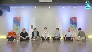Cover images BTS dancing to Suga's Seesaw