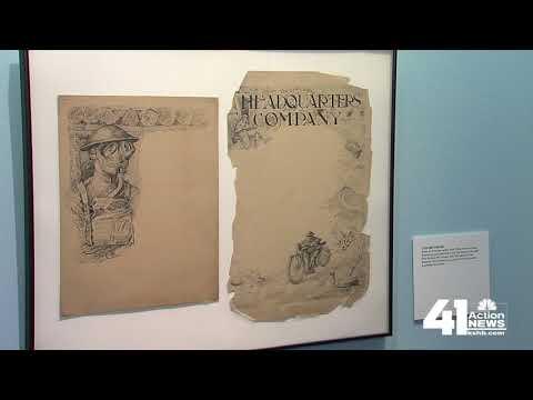 World War I exhibit matches artists with war
