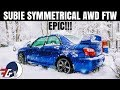AMAZING CHEAP Subaru WRX BugEye KILLS IT In A Blizzard Even With SUMMER Tires mp3
