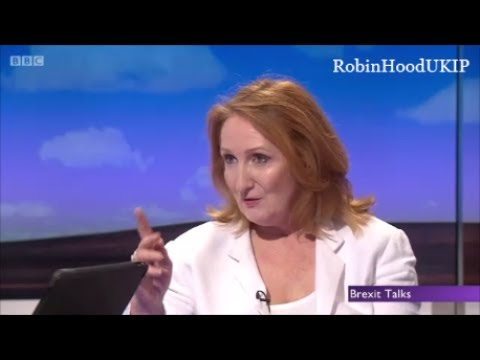 Suzanne Evans schools two braindead remainers