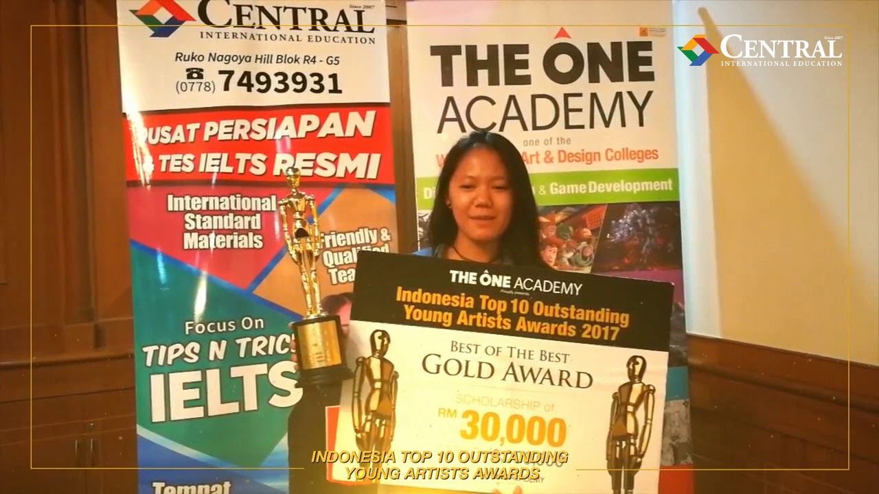 548b2cb1a5 Indonesia Top 10 Outstanding Young Artists Awards 2018 - TOA The One Academy