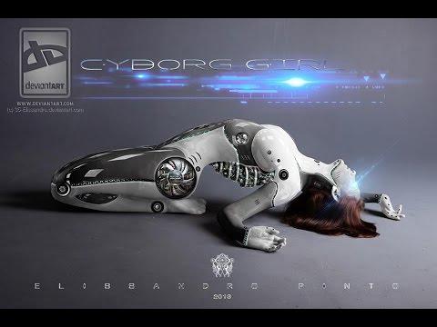 Tutorial Photoshop Cyborg Girl 2