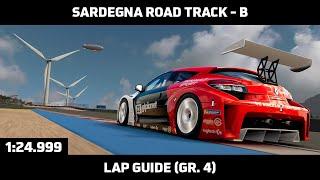 Gran Turismo Sport - Daily Race Lap Guide - Sardegna Road Track B -  Megane Trophy Gr. 4