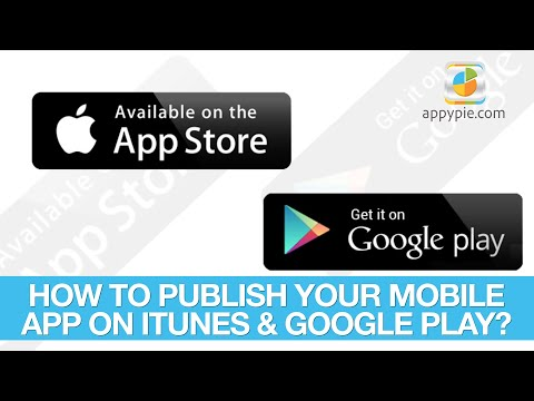 How To Publish Your Mobile App On Google Play & ITunes? - Lesson 49
