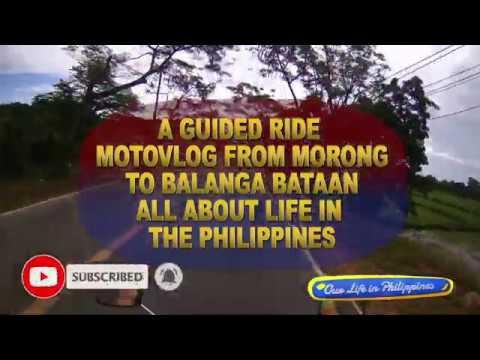 MotoVlog - Morong Bataan to Balanga Bataan - Best beaches in  Luzon?