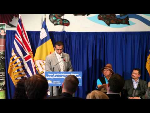 Chief Shawn A-in-chut Atleo announced as Shqwi qwal (speaker) for Indigenous Dialogue at VIU