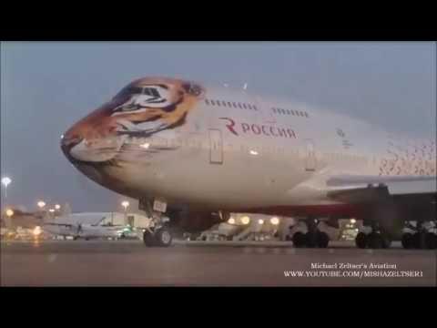 Rossiya Russian Airlines Boeing 747-446 EI-XLD TLV LLBG
