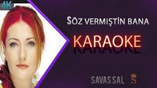 Söz Vermiştin Bana Karaoke 4k