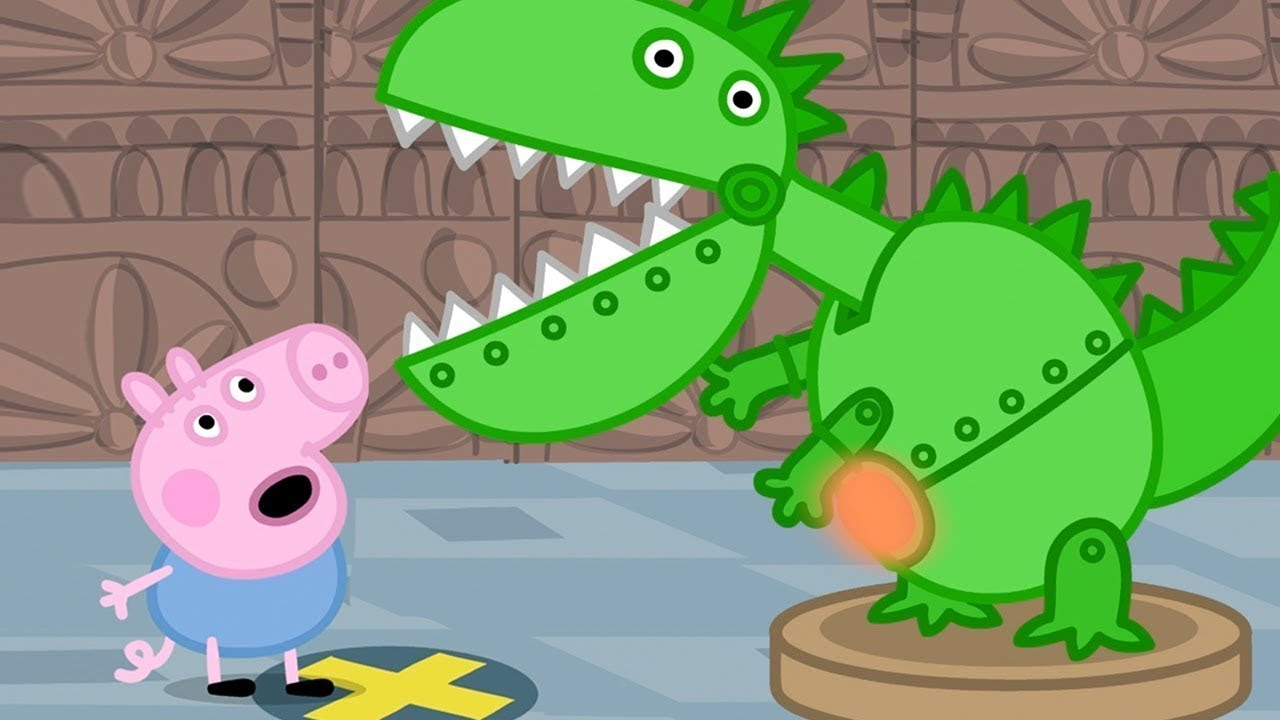 Peppa Pig English Episodes ???? Peppa Pig and George Celebrate Dinosaur Day! #1????Peppa Pig Officia