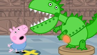 Peppa Pig English Episodes 🦖 Peppa Pig and George Celebrate Dinosaur Day! #1🦖Peppa Pig Official