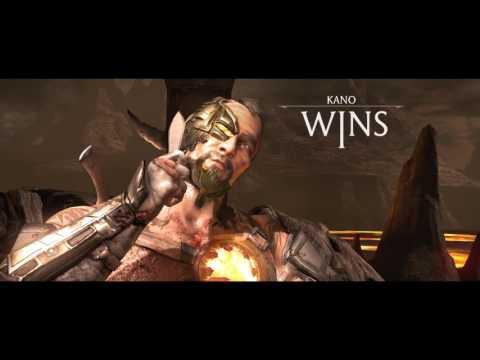 MKXL - Kano Online (Commando/Cybernetic) vs Sector/Goro/J.Briggs