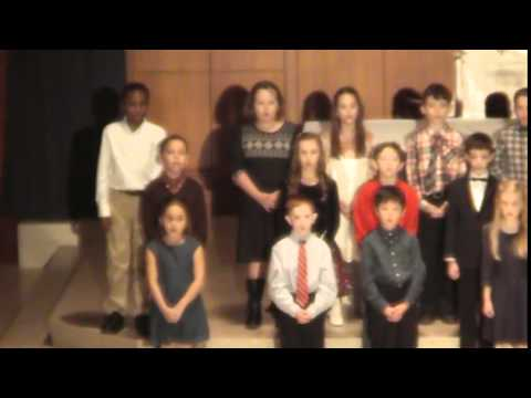 Academy of Saint Paul 3rd Grade Christmas Concert