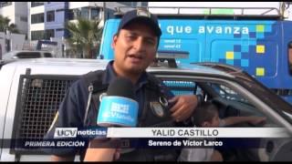 Trujillo: Menor es encontrado deambulando en avenida Larco