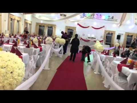 Hochzeit Deko Saal Deko Stulhussen Usw Youtube