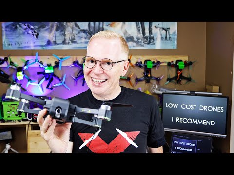 The BEST Low Cost DRONES for BEGINNERS (part 2) - My Recommendations