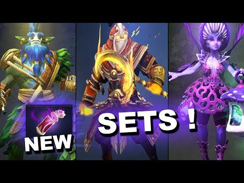 NEW Dota 2 Update - Treasure of Carmine Cascade! thumbnail