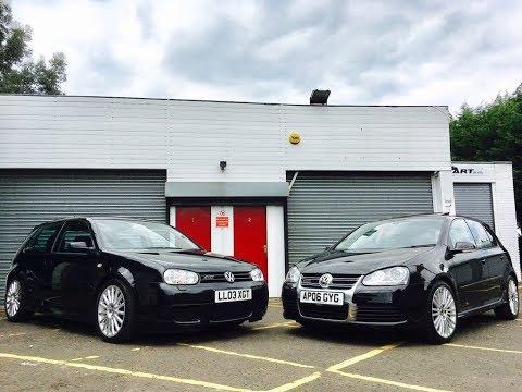 Mk4 VW Golf R32 vs Mk5 VW Golf R32, which one's best?