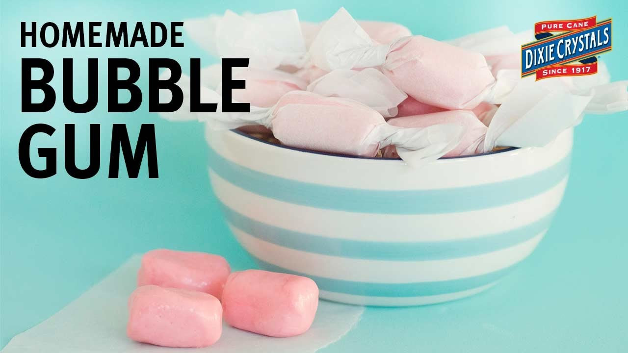 How To Make Homemade Bubble Gum
