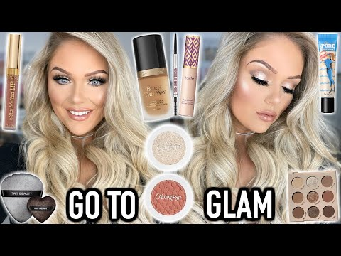 MY EVERYDAY SOFT GLAM MAKEUP LOOK |  KELLY STRACK x COLOURPOP BUNDLES!