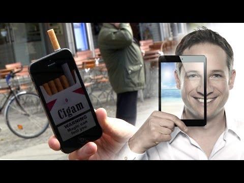 Digital Smoking Prank - S1 E01 iPhone Magic Simon Pierro